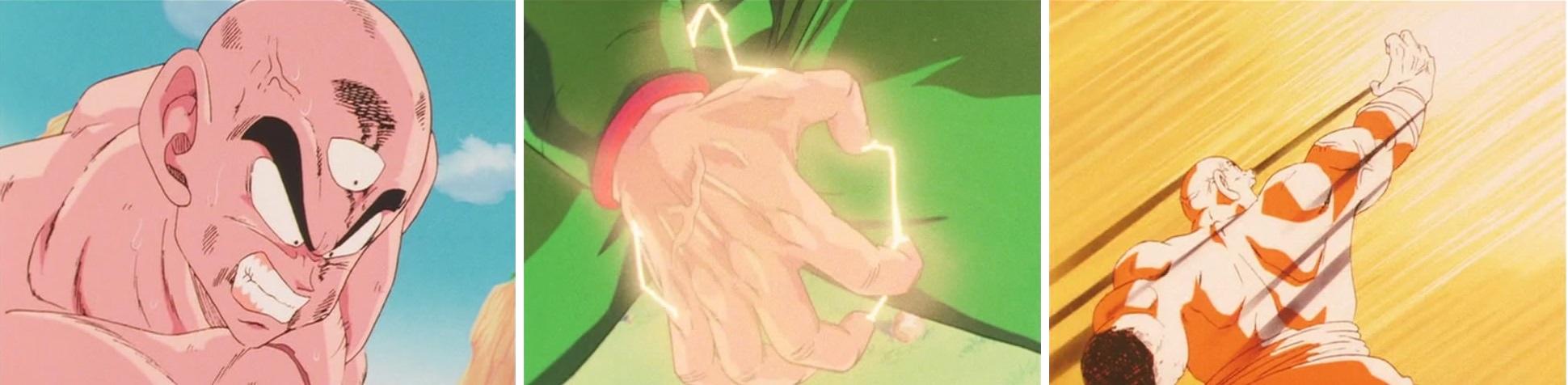 Kazuya Hisada a animé de nombreuses scènes en tant qu'animateur clé. Celle du Kikōhō de Ten Shin Han est l'une d'entre elles