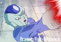 Frost lance ses Death Beams sur Piccolo