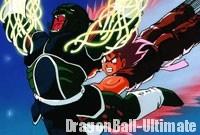Gokū bat Kishīmé à l'aide du Kaiōken
