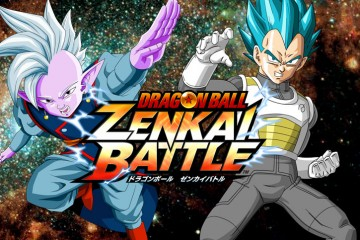 Kaiōshin et Vegeta SSGSS dans Dragon Ball : Zenkai Battle