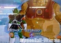 Kishīmé et Misokattsun dans DB Heroes
