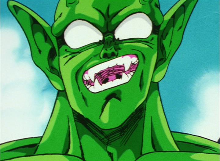 Piccolo dessiné par Satō en tant qu'animateur clé