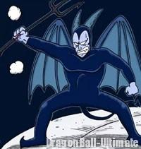 Akkuman, un diable qui apparaît dans le manga Dragon Ball