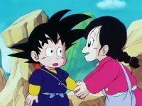 Chao demande à Gokū d'aider son village