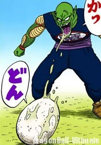 Piccolo donnant naissance à Drum