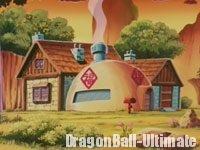 La 1ère maison de Gokū, dans l'anime