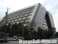Les locaux de Namco Bandai à Shinagawa