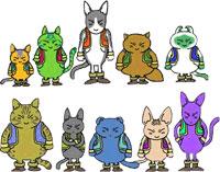 Les différents types de Neko Majins