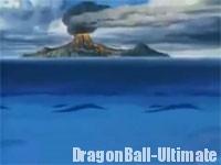 Le volcan Kopo Kopo dans Le plan d'extermination des Saiyans
