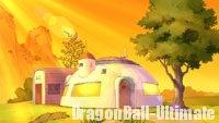 La maison de Son Gokū dans DB Super