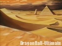 Le désert de l'Ouest, dans l'OVA