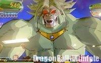 Broly singe géant doré dans DB Heroes