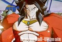 Broly Super Saiyan 4 dans DB Heroes