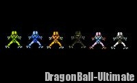 Les différents Saïbaïmen dans Dragon Ball Z : Super Saiya Densetsu