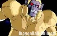 Son Gokū singe géant doré dans DB Heroes