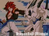 Super Gogeta contre Super Ī Shinron