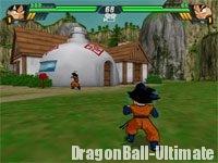 La maison de Son Gokū dans Dragon Ball Z : Sparking! Meteor (Budokai Tenkaichi 3)