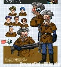 Character Design des Tsufurs pour l'OVA