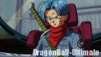 Trunks monte dans la Time Machine