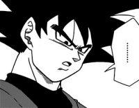 Gokū Black découvre Gokū et Vegeta, dans le monde futur de Trunks