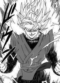 Gokū Black devient un Super Saiyan
