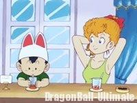 Peasuké, dans la série TV Dragon Ball