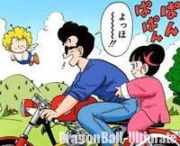 Tarō et Tsururin, dans le manga