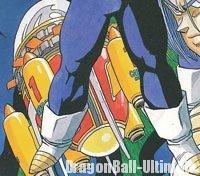 L'illustration couleur d'Akira Toriyama