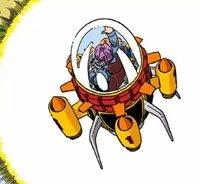 La Time Machine, dans le manga couleur