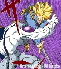 Trunks du futur tranche Mecha Freeza