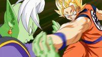 Zamasu contre Son Gokū Super Saiyan 2
