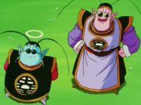 Kaiō du Sud vient assister à l'entraînement de Gokū, sur la planète du grand Kaiō