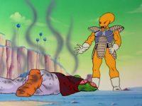 Ōren tuant le survivant Namek