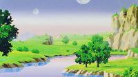 Le paysage de la planète des Kaiōshins