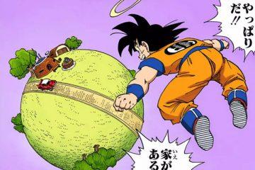 Son Gokū découvre la planète de Kaiō