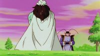 Le Kaiō du Sud repart avec son élève, Papoye... en toute mauvaise foi