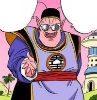 Kaiō du Sud, dans le manga couleur