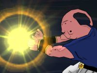 Le Final Flash de Boo, qui a absorbé Vegeta