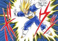 Vegeta se prépare à exécuter le Final Flash