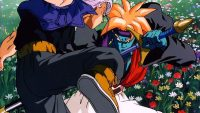 Gokua tente de tuer Trunks du futur