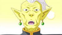 Gowasu, surpris par la puissance de Gokū