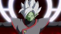 Zamasu fusionné hérite du pouvoir de Gokū Black et de l'immortalité