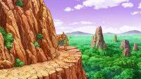 La planète Babari, dans l'anime