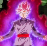 Gokū Black en Super Saiyan Rosé