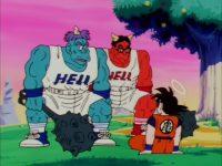 Gozu et Mezu apparaissent devant Gokū