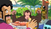 Bubbles et Grégory dans le Jump Super Anime Tour