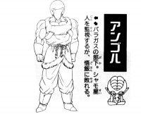 Character Design d'Angol