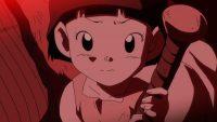Maki, avec le morceau d'épée cassée