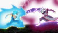 Zamasu fusionné contre Vegetto Blue
