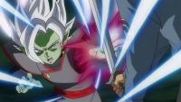 Zamasu pare l'attaque de Trunks du futur